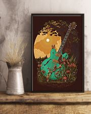 Guitar 6 Strings Under Sunset  11x17 Poster lifestyle-poster-3