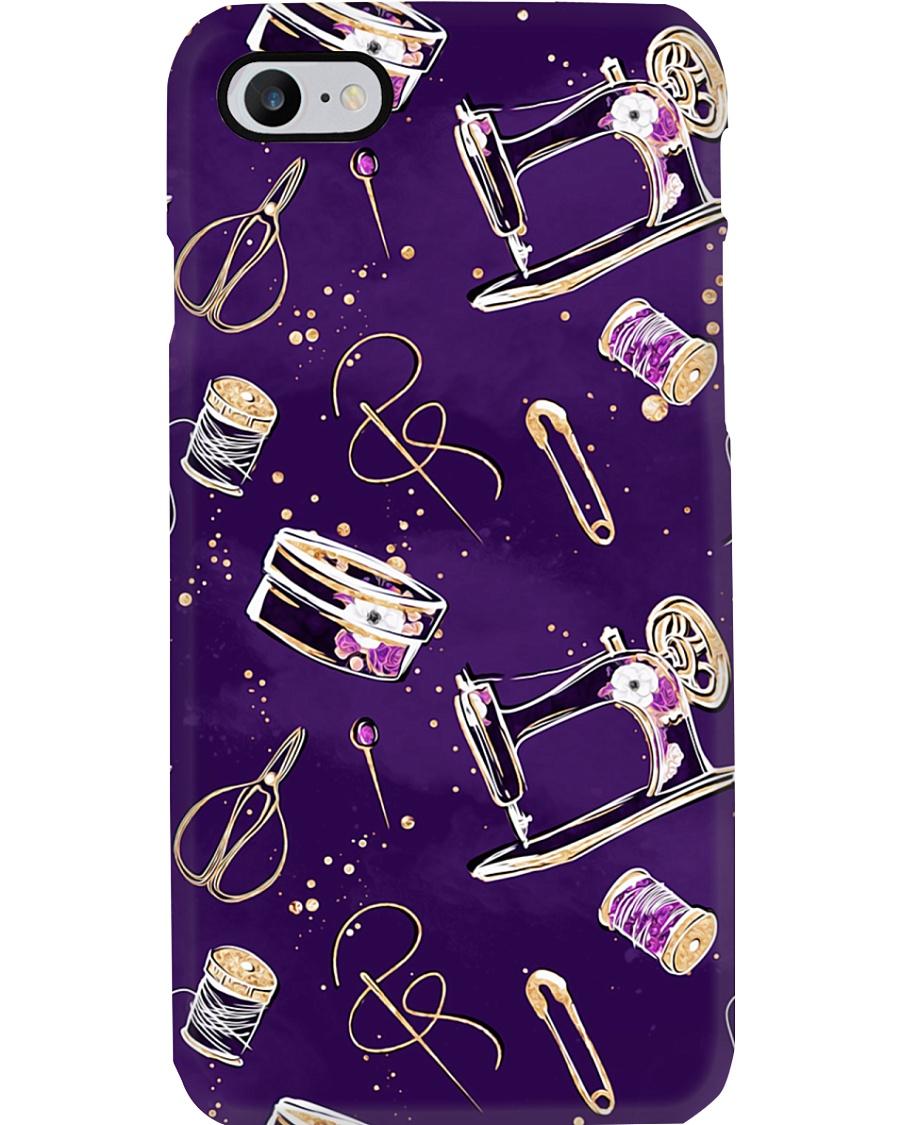 Purple Sewing Macine Phone Case