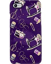 Purple Sewing Macine Phone Case i-phone-7-case