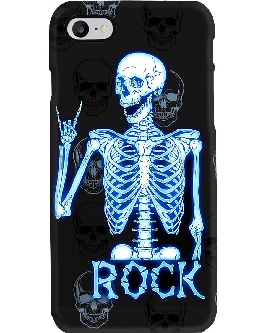 Radiologist Rock Skeleton Phone Case