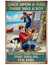 Trombone There was a boy who really loved trombone 11x17 Poster front