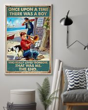 Trombone There was a boy who really loved trombone 11x17 Poster lifestyle-poster-1