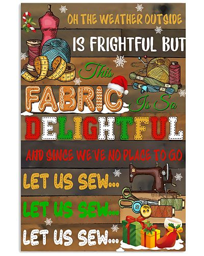 Let Us Sew Funny Art Print