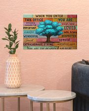 Social Worker When You Enter This Office  17x11 Poster poster-landscape-17x11-lifestyle-21