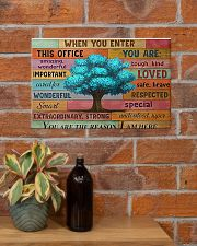 Social Worker When You Enter This Office  17x11 Poster poster-landscape-17x11-lifestyle-23