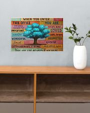 Social Worker When You Enter This Office  17x11 Poster poster-landscape-17x11-lifestyle-24
