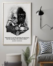 Education Is Not The Learning Of Many Facts 11x17 Poster lifestyle-poster-1