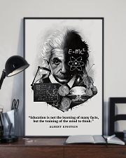 Education Is Not The Learning Of Many Facts 11x17 Poster lifestyle-poster-2