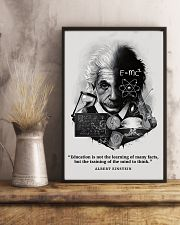 Education Is Not The Learning Of Many Facts 11x17 Poster lifestyle-poster-3