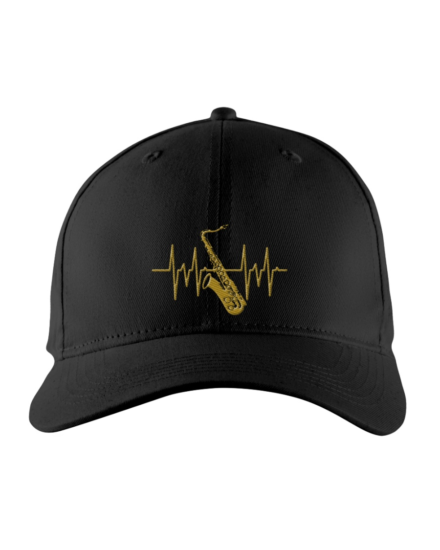 Saxophone - Heart Beating Embroidered Hat