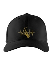 Saxophone - Heart Beating Embroidered Hat front