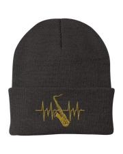 Saxophone - Heart Beating Knit Beanie thumbnail