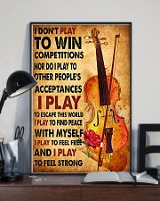 Cello - I don't play to win 11x17 Poster lifestyle-poster-2