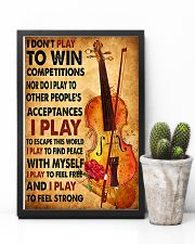 Cello - I don't play to win 11x17 Poster lifestyle-poster-8