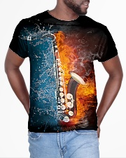 Saxophone - Water and Fire All-over T-Shirt aos-all-over-T-shirt-lifestyle-front-04