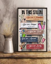 In This Salon Hairdresser 11x17 Poster lifestyle-poster-3