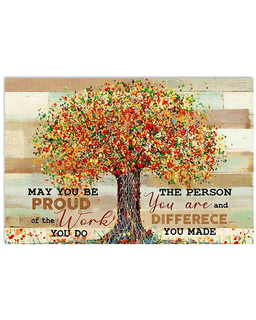 Social Worker Be Proud Of The Work You Do 24x16 Poster