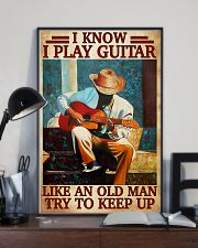 Guitar Like An Old Man 11x17 Poster lifestyle-poster-2
