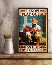 Guitar Like An Old Man 11x17 Poster lifestyle-poster-3