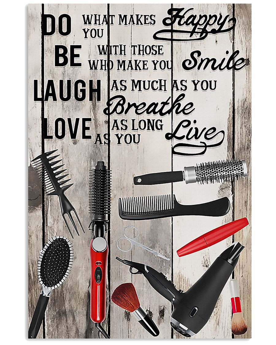 Hairdresser Love As You Live 11x17 Poster