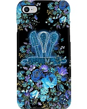 Baker Blue Flowery Baking Tools Phone Case i-phone-7-case
