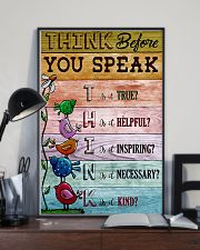 Think Before You Speak Teacher  11x17 Poster lifestyle-poster-2
