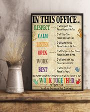 Social Worker In This Office We Work Together 11x17 Poster lifestyle-poster-3