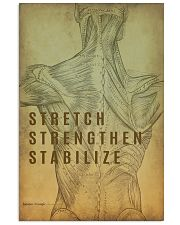 Physical Therapy Stretch Strengthen Stabilize 11x17 Poster front