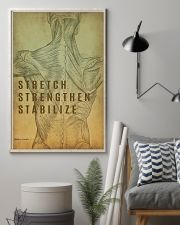Physical Therapy Stretch Strengthen Stabilize 11x17 Poster lifestyle-poster-1