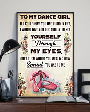 Ballet To my dance girl 11x17 Poster lifestyle-poster-2