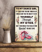 Ballet To my dance girl 11x17 Poster lifestyle-poster-3