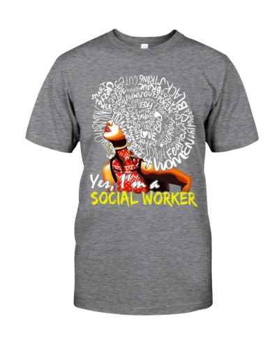 Yes I'm a Social Worker