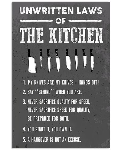Chef - Unwritten laws of the kitchen
