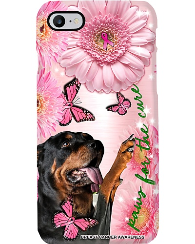 Breast Cancer Awareness Paws For The Cure