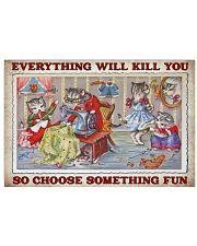 Sewing Choose Something Fun 17x11 Poster front