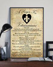 Veterinarian Prayer  11x17 Poster lifestyle-poster-2
