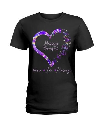 Massage Therapist Heart Peace Love Massage