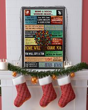 Social Worker Being a social worker means 11x17 Poster lifestyle-holiday-poster-4