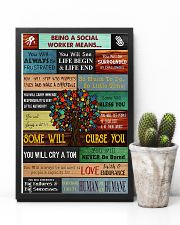 Social Worker Being a social worker means 11x17 Poster lifestyle-poster-8