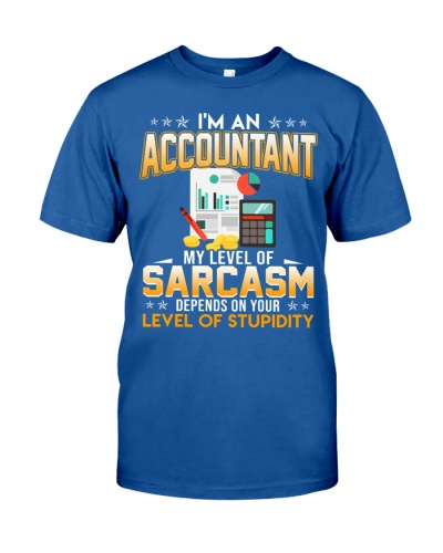 Accountant My Level Of Sarcasm
