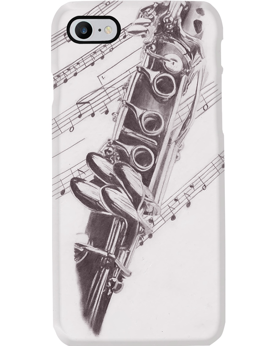 Clarinet Old Detail Phone Case