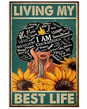 Social Worker Living My Best Life 11x17 Poster front