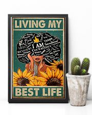 Social Worker Living My Best Life 11x17 Poster lifestyle-poster-8