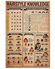 Hairdresser Hairstyle Knowledge 11x17 Poster front