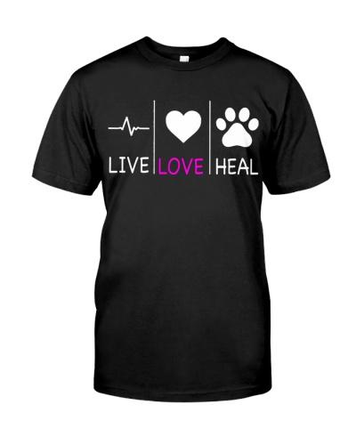 Veterinarian Live love heal