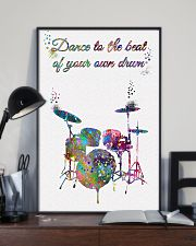 Drummer - Dance To The Beat Of Your Own Drum 11x17 Poster lifestyle-poster-2