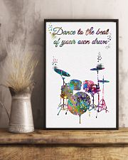 Drummer - Dance To The Beat Of Your Own Drum 11x17 Poster lifestyle-poster-3