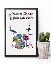 Drummer - Dance To The Beat Of Your Own Drum 11x17 Poster lifestyle-poster-8