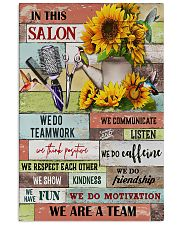 We Are A Team Hairdresser 11x17 Poster front