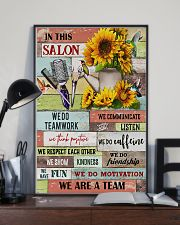We Are A Team Hairdresser 11x17 Poster lifestyle-poster-2